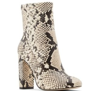 Call It Spring ankle snake boots